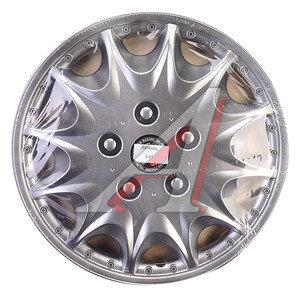 Колпак колеса R-14 декоративный серый комплект 4шт. ПРИНЦ ПРИНЦ R-14,