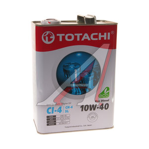 Масло дизельное ECO DIESEL п/синт.4л TOTACHI TOTACHI SAE10W-40