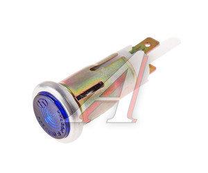 Лампа контрольная 12V синяя ОСВАР 122.3803, 122.3803010