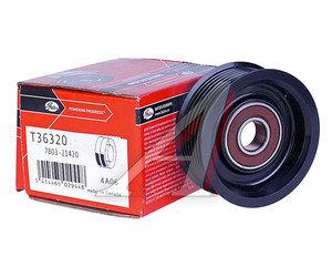 Ролик приводного ремня HONDA Accord обводной GATES T36320, 31190-RRA-A00