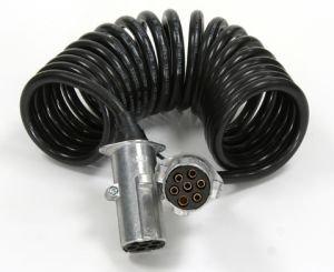 Провод электрический прицепа LE FLEX электровод 5.5м черный АВТОТОРГ LE FLEX (1х1мм+6х0.75мм), 895522 ч,