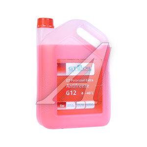 Антифриз красный -40C 5кг GT Polarcool GT OIL GT OIL G12
