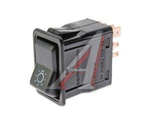 Выключатель клавиша ВАЗ-2108-09 габаритных огней АВТОАРМАТУРА 581.3710