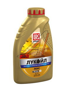 Масло моторное ЛЮКС SL/CF п/синт.1л ЛУКОЙЛ ЛУКОЙЛ SAE10W40, 19187