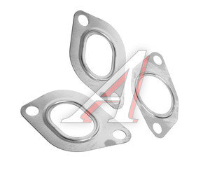 Прокладка ЗИЛ-5301 ЕВРО-2 коллектора выпускного комплект 3шт.металл АВТОПРОКЛАДКА 245-1008026/27