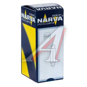 Лампа 12V C10W SV8.5-8 31мм двухцокольная NARVA 17316, N-17316, АС12-10