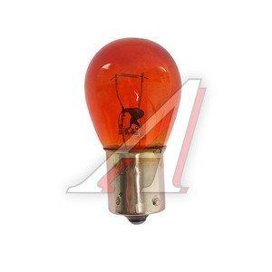 Лампа 24V PY21W BA15s МАЯК А24-21-3ж, 62413/82413ORANGE, А24-21-3
