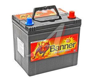 Аккумулятор BANNER Power Bull 60А/ч обратная полярность 6СТ60 P60 68, P60 68