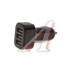 Устройство зарядное в прикуриватель 12-24V 3 USB Smart Charging WIIIX UCC-3-2 WIIIX