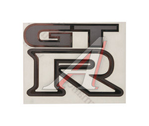 """Наклейка металлическая """"GTR"""" 52х70мм MASHINOCOM PKTA 18"""
