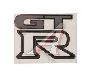 "Наклейка металлическая ""GTR"" 52х70мм MASHINOKOM PKTA 18"