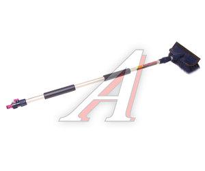 Щетка для мытья автомобиля (под шланг) телескопическая 2-х секционная 20см CITY UP CA-613,
