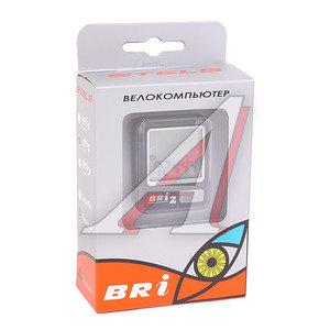 Велокомпьютер BRI-2 8 функций (серебристый/черный) BRI-2, 060017