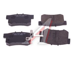 Колодки тормозные HONDA Accord,Civic,CR-V (91-) задние (4шт.) HSB HP5164, GDB3175, 43022-SM4-525