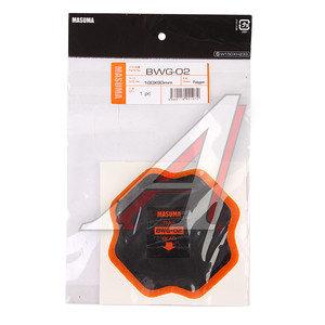 Заплатка для боковых порезов d=100мм кордовая 2 слоя MASUMA BWG-02