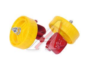 Кронштейн съемный с колесом для детских санок УС30К,