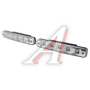Огни ходовые дневного света LED DAY LIGHT 5свет-ов 12V (185х30) MONSTER DRL-102, LED-238
