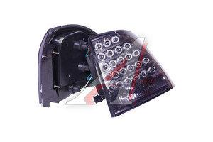 Фонарь задний ВАЗ-2170 светодиод тонированный хром комплект 2170-3716010/6011Т строчка, 21700-3716010-00