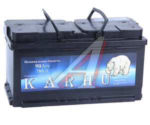 Аккумулятор KARHU 90А/ч обратная полярность 6СТ90