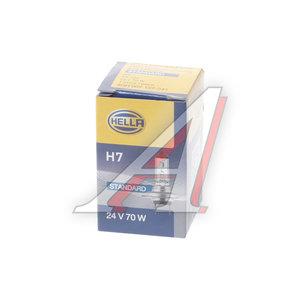 Лампа H7 70W PX26d 24V коробка 1шт. HELLA 8GH007157241, O-64215