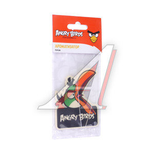 Ароматизатор подвесной пластина (персик) Hal Angry Birds PRIDE 073006, AB006