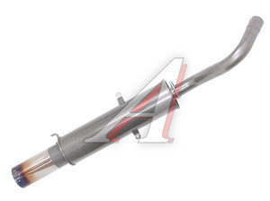 Глушитель ВАЗ-2107 (с приглушением звука), сталь PRO SPORT RS-04380, 2106-1201005