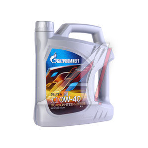 Масло моторное SUPER SG/CD п/синт.3.50кг/4л GAZPROMNEFT GAZPROMNEFT SAE10W40, 2389901318