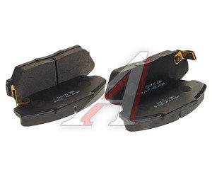 Колодки тормозные HONDA Accord (88-) передние (4шт.) HSB HP8169, GDB733, 45022-SD4-528