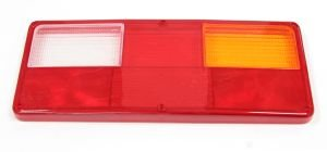 Рассеиватель DAF фонаря заднего левого 0121 (желто-белое) АВТОТОРГ 0121CKB ж/б
