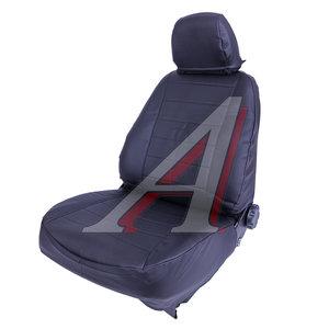 Авточехлы TOYOTA Corolla (13-) экокожа задняя спинка 40х60 черные СПУТНИК S0070