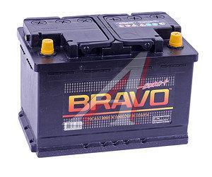 Аккумулятор BRAVO 74А/ч обратная полярность 6СТ74