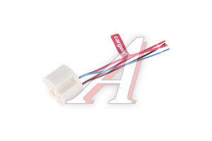 Колодка разъема ВАЗ-2108 переключателя вентилятора отопителя в сборе CARGEN AX-366-2