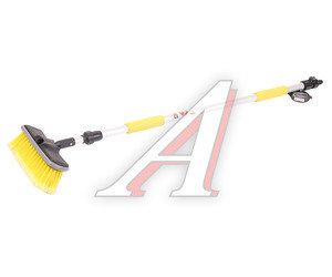 Щетка для мытья автомобиля (под шланг) телескопическая с мягкой ручкой и клапаном100-168 см АВТОСТОП AB-1984