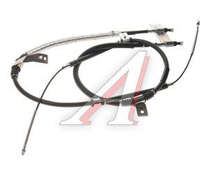 Трос стояночного тормоза SSANGYONG Rexton (02-) (662L) задний (2шт.) (барабанные тормоза) OE 4901008002