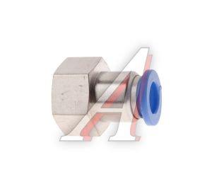 Соединитель трубки ПВХ,полиамид d=8мм (внутренняя резьба) М16х1.5 прямой PCF M16x1.5 d=8, АТ-0731