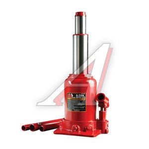 Домкрат бутылочный 6т 215-485мм 2-х плунжерный с клапаном BIG RED TF0602