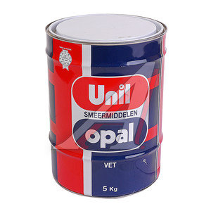 Смазка пластичная GREASE EP/R G2 (янтарная) 5кг UNIL, 9122