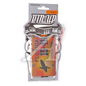 Ароматизатор подвесной пластина (ваниль) Флорида Pin Up PHANTOM PH3262 \Pin Up