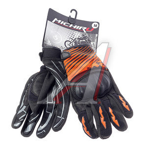 Перчатки мото G 9020 оранжевые M MICHIRU G 9020, 4680329010841