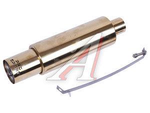 Глушитель GOLD универсальный D=58мм,L=464мм PRO SPORT RS-06087,
