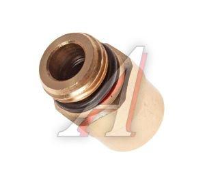 Соединитель трубки ПВХ,полиамид d=10мм (наружная резьба) М16х1.5 прямой латунь CAMOZZI 9512 10-M16X1,5
