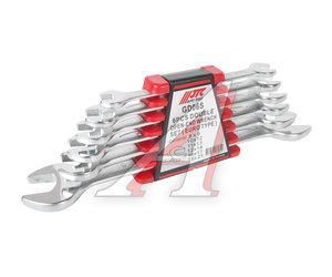 Набор ключей рожковых 8-21мм 6 предметов в кейсе JTC JTC-GD06S