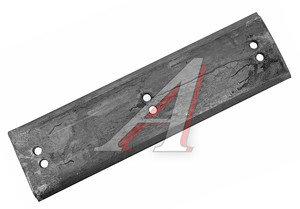 Нож МТЗ,ЭО-2621,2626,ТО-49 на отвал (профильный) 6-отверстий комплект 3шт. сталь 65Г (пружинная) 655х12х180