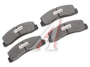 Колодки тормозные ВАЗ-2121,2123 передние (4шт.) AD 2121-3501090