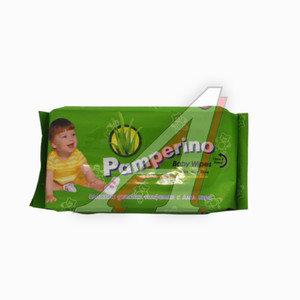 Салфетка влажная универсальная 25х15см в мягкой упаковке детская 50шт. PAMPERINO PA-15307