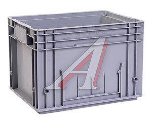 Ящик полимерный многооборотный 396х297х280мм серый IPLAST IP-378843
