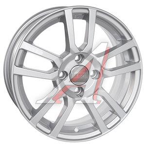 Диск колесный литой CHEVROLET Cobalt OPEL Corsa R15 КС-707 Сильвер K&K 4х100 ЕТ39 D-56,6