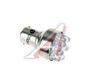 Лампа светодиодная P21W 21W BA15s 12V белая NORD YADA S25 (9LED), 901977