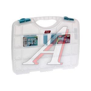 Ящик для крепежа органайзер прозрачный №22 TAYG TAYG-22, 022593