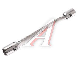 Ключ торцевой прямой 17х19мм шарнирный L=260мм JTC JTC-3940